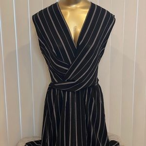 Luna Pin Stripe Dress